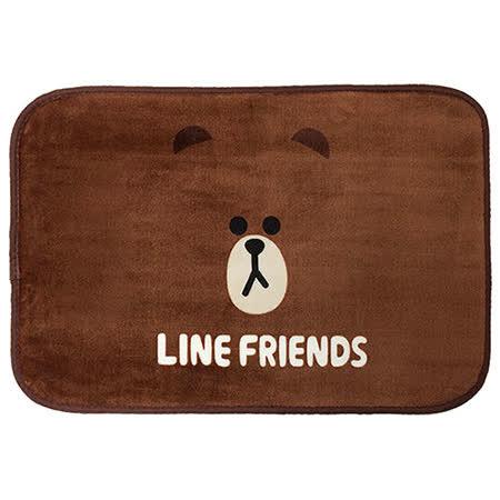 【享夢城堡】LINE FRIENDS 熊大地墊2入