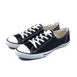 (W系列)CONVERSE CTAS Fancy 帆布鞋 黑/白-542527C