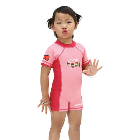 ≡MARIUM≡兒童連身短袖水母衣 MAR-2825