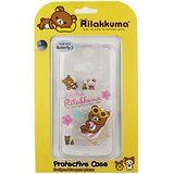 Rilakkuma 拉拉熊/懶懶熊 HTC Butterfly 2 / 蝴蝶2 彩繪透明保護軟套-Fun Fun熊
