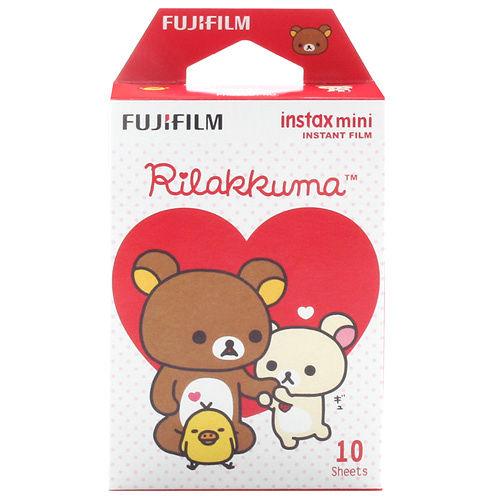 FUJIFILM instax mini 拉拉熊~愛心款 拍立得底片^(1盒裝^).
