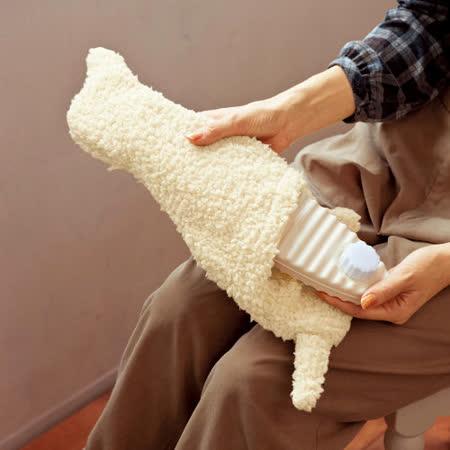 暖暖捲毛犬防寒保暖熱水暖暖壺/暖暖包