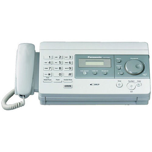 Panasonic國際牌 KX-FT501 感熱紙傳真機《平輸品》 黑色/白色