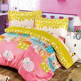 《夢工場》童話夢境兩用被床包組雙人