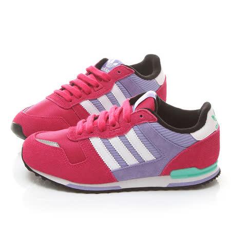 Adidas 大童 復古麂皮運動鞋M25228-桃紫