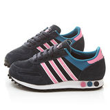 Adidas 女款La Trainer W 運動慢跑鞋 M20869-黑粉