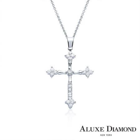 A-LUXE  亞立詩鑽石 The Cross 美鑽項鍊