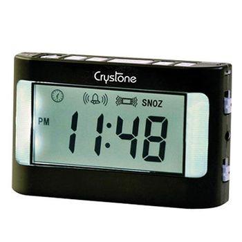 樂齡 【Crystone】攜帶型震動鬧鐘 NT-903(僅適用電池)