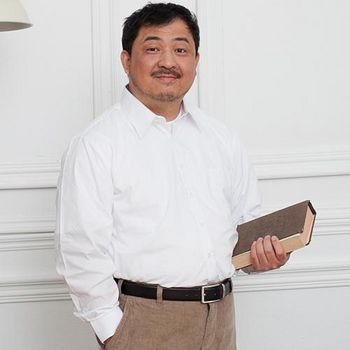 Sexii Hippo 超級大尺碼★紳士長襯衫 潔淨白
