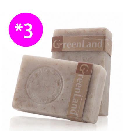CHEE YEN 綺緣 GreenLand 皇室寵愛絲滑緊緻核桃馬賽皂(3入體驗組)