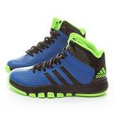 Adidas 大童 高筒籃球鞋 C75776-藍綠