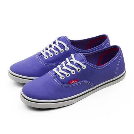 女 VANS  休閒時尚帆布鞋 Authentic 紫 51011212