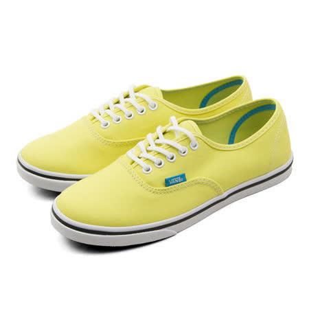 女 VANS  休閒時尚帆布鞋 Authentic 黃 51011214