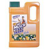 ★超值2入組★威猛先生地板清潔劑-鮮橙2000ml
