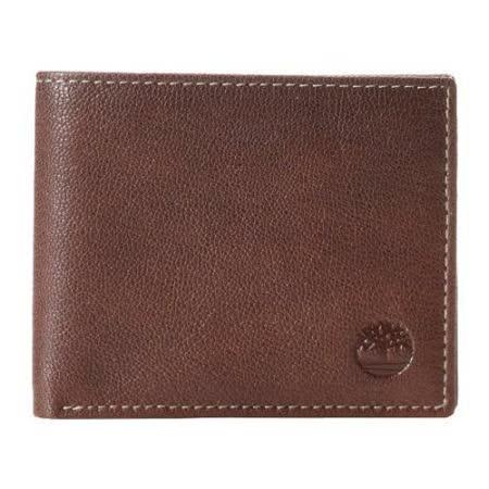Timberland 2015男時尚Blix雙折褐色皮夾【預購】