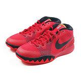(大童)NIKE KYRIE 1 (GS) 籃球鞋 紅/黑-717219606