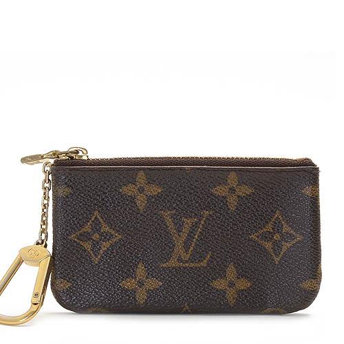 Louis Vuitton LV M62650 花紋小型方型鑰匙零錢包_