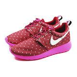 (大童)NIKE ROSHERUN PRINT GS 休閒鞋 紅/桃紅-677784606
