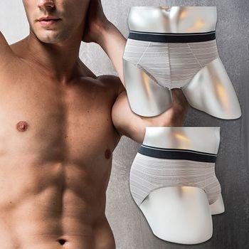 法國名牌時尚條紋吸排三角褲(M~XL)