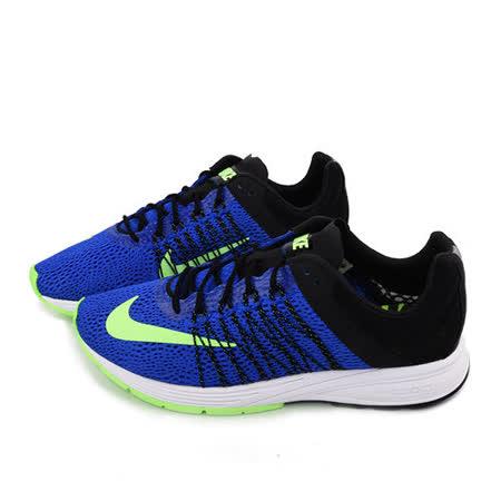NIKE 男款 AIR ZOOM STREAK 5 輕量慢跑鞋641318430-藍