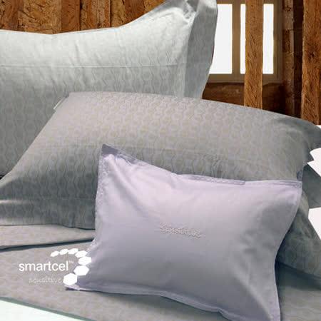 【皇室羽毛工房】氧化鋅健康床組加大-斜紋紫款