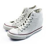 (W系列)CONVERSE Chuck Taylor All Star Lux 帆布鞋 米/白-547191C
