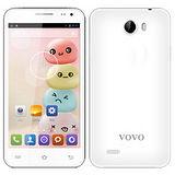【VOVO 】5吋雙卡四核雙鏡頭智慧型手機-白(V10W)