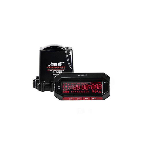 征服者 GPS CXR-5288 雲端服務 分離式 全頻雷達測速器 (送免費基本安裝服務)