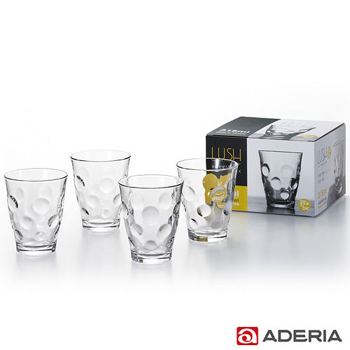 ~ADERIA~ 玻璃酒杯四件套組315ml^(圓點款^)