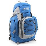 RHINO 犀牛透氣彈性鋼網架背包G129(29公升)-藍
