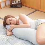 格藍傢飾-多功能療癒助眠長抱枕-水藍