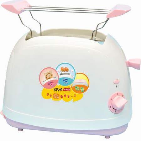 【勸敗】gohappy【KRIA可利亞】烘烤二用笑臉麵包機 KR-8001(粉色)評價如何景 美愛 買 營業 時間