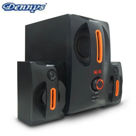 Dennys藍牙2.1聲道多媒體喇叭(PYC827-MF36) 送8G隨身碟
