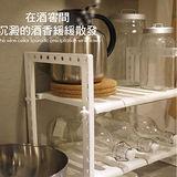 【inBOUND】廚房萬用收納幫手收縮式伸縮架/置物架/收納架