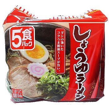 北勢岩手日本醬油拉麵88g*5