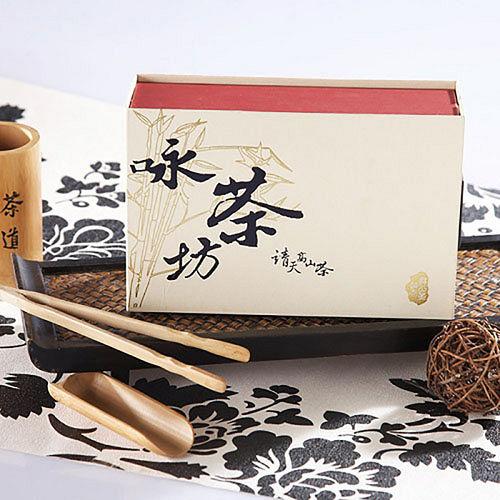 【靖天】特選高山烏龍茶葉150g*2入(金光禮盒系列)