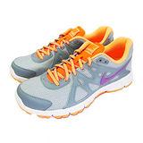 (女)NIKE WMNS NIKE REVOLUTION 2 慢跑鞋 灰/螢光橘-554900024