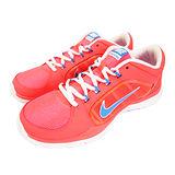 (女)NIKE WMNS NIKE FLEX TRAINER  慢跑鞋 螢光橘紅/藍-643083604