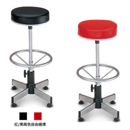 【椅吧】基本款多功能調整櫃台椅(兩色可選)