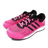 (大童)ADIDAS RESPONSE K 慢跑鞋 螢光粉紅/黑-M18678