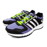 (女)ADIDAS GALAXY W 慢跑鞋 紫/黑/螢光綠-M18839