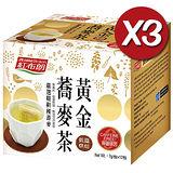 《紅布朗》黃金蕎麥茶(7g/包*12包)*3