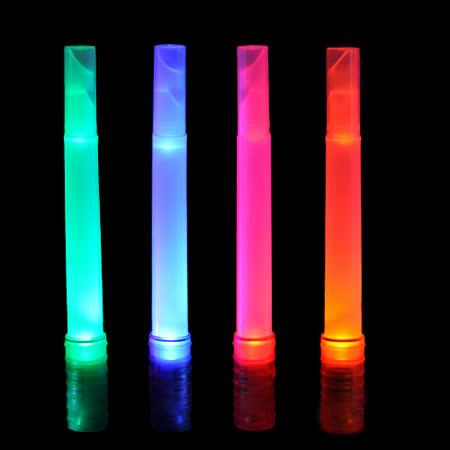 【WalkBox光棒】LED手電筒+彩光指揮棒/螢光棒+緊急口哨