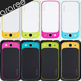 araree Shutter Samsung Galaxy S3繽彩滑蓋鏡頭保護殼-附保護貼