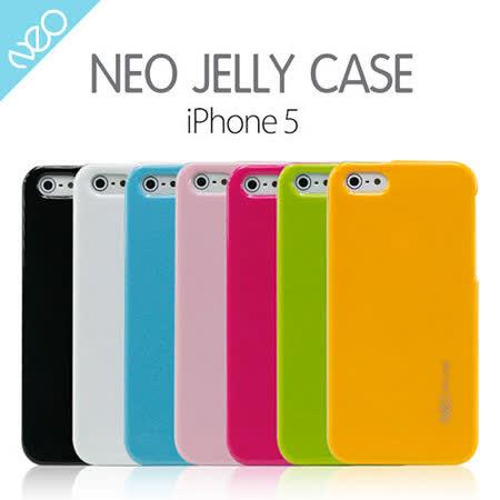 NEO iPhone 5 晶瑩糖果色Jelly保護殼
