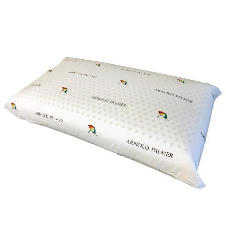 【Arnold Palmer雨傘牌】透氣立體結構棉網乳膠枕1入