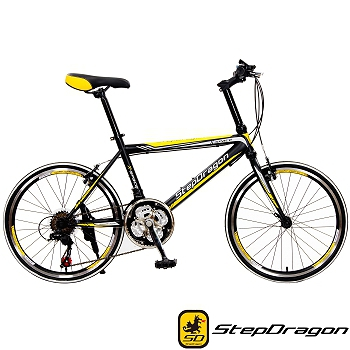【StepDragon】SRS-CH168 日本Shimano 20吋21速小跑車