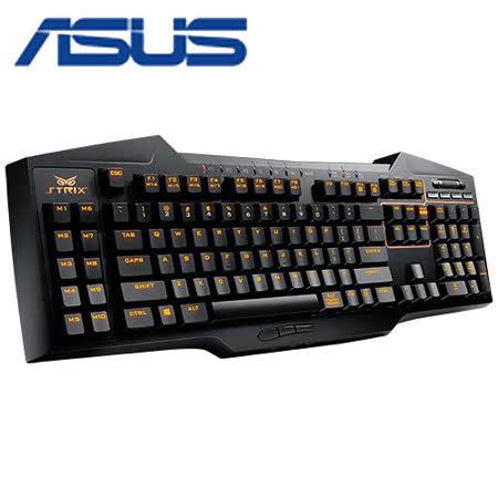 ASUS 華碩 梟鷹 STRIX TACTIC PRO 機械式電競鍵盤 (青軸)