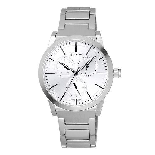LICORNE 生活哲學經典腕錶-白x小