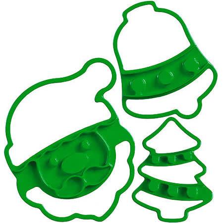 《CUISIPRO》餅乾壓模裝飾組(聖誕)